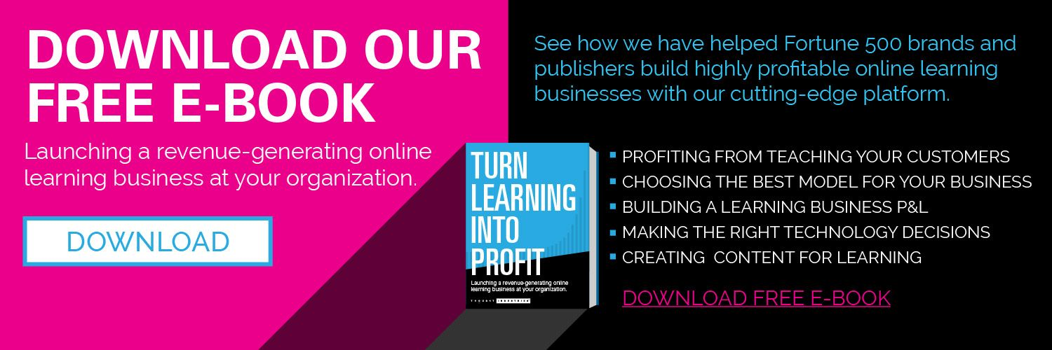 Turn Learning Into Profit Free Ebook